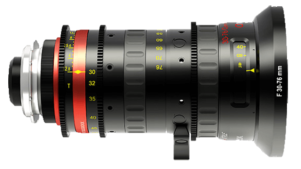 Angineux 30-76 Lightweight Cine Zoom